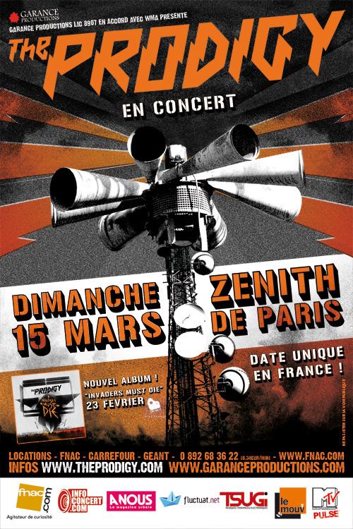 Prodigy @ Zenith (Paris), le 15 Mars 2009