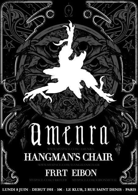 Amenra + Hangman's Chair + Frrt + Arafat @ Klub (Paris), le 08 Juin 2009