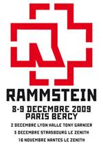 Rammstein + Combichrist @ Bercy (Paris), les 8 et 9 Décembre 2009