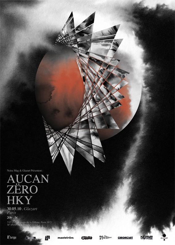 Aucan + Zero + Hky @ Glazart (Paris), le 30 mai 2010