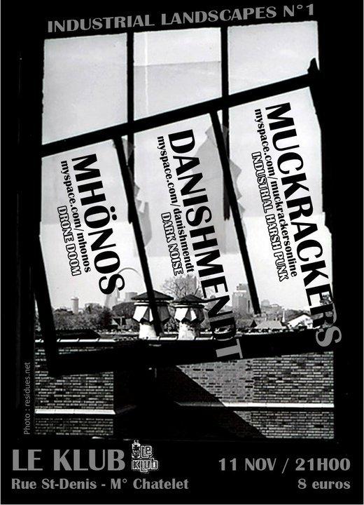 Muckrackers @ Klub (Paris), le 11 Novembre 2010