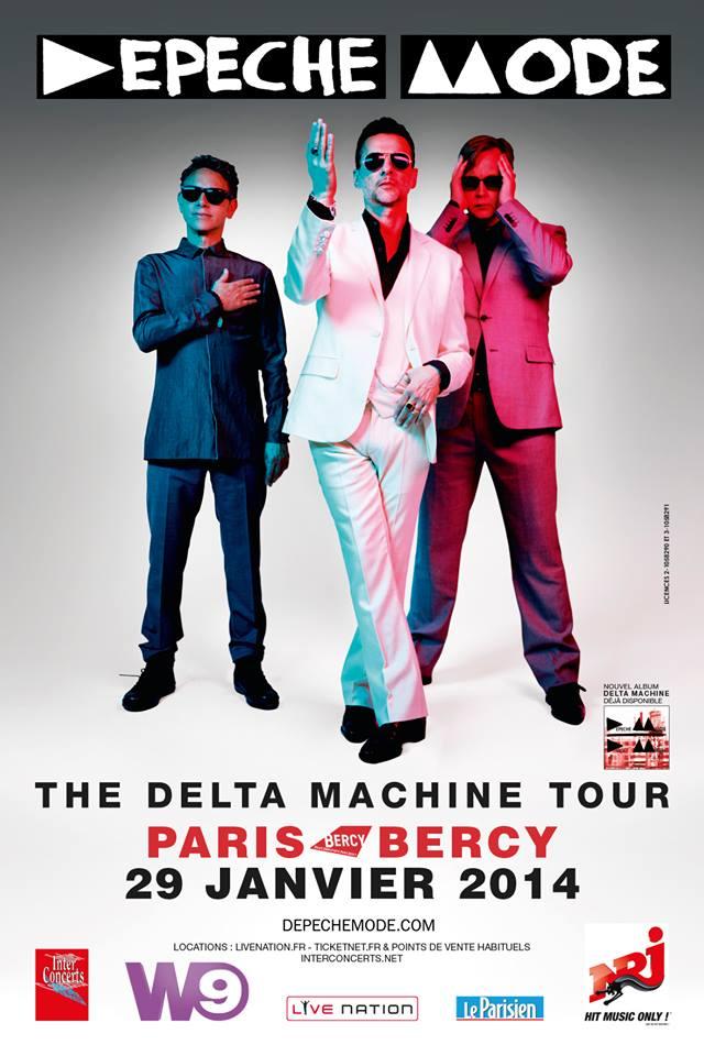 Depeche Mode @ Bercy (Paris), le 29 Janvier 2014