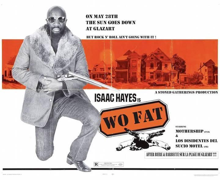 Wo Fat + Mothership + Los Disidentes Del Ducio Motel @ Glazart (Paris), le 28 Mai 2014