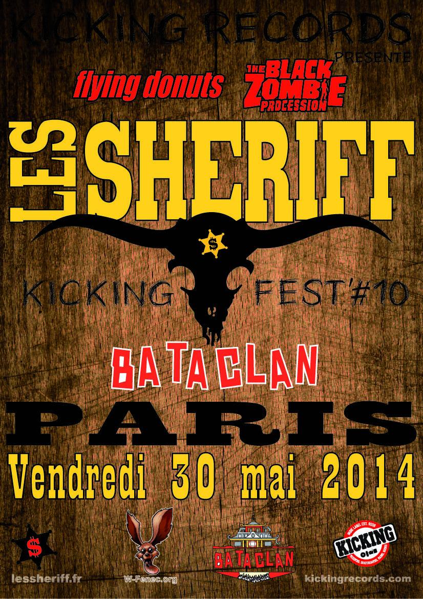 Les $heriff @ Bataclan (Paris), le 30 Mai 2014