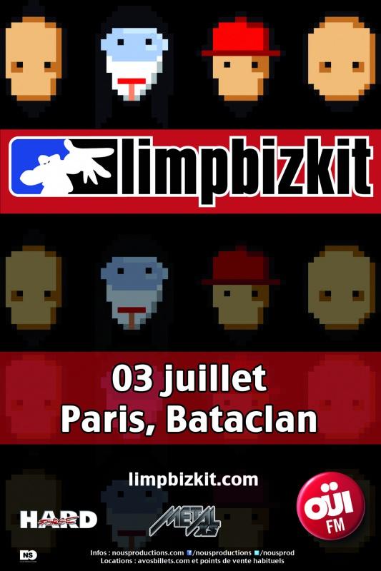 Limp Bizkit @ Bataclan (Paris), le 3 Juillet 2014