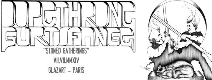 Dopethrone + Gurt + Fange @ Glazart (Paris), le 07 Juillet 2014
