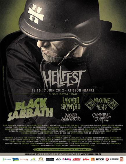 Hellfest 2012 @ Clisson (France), du 15 au 17 Juin 2012