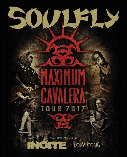 Soulfly @ Trabendo (Paris), le 01 Octobre 2012