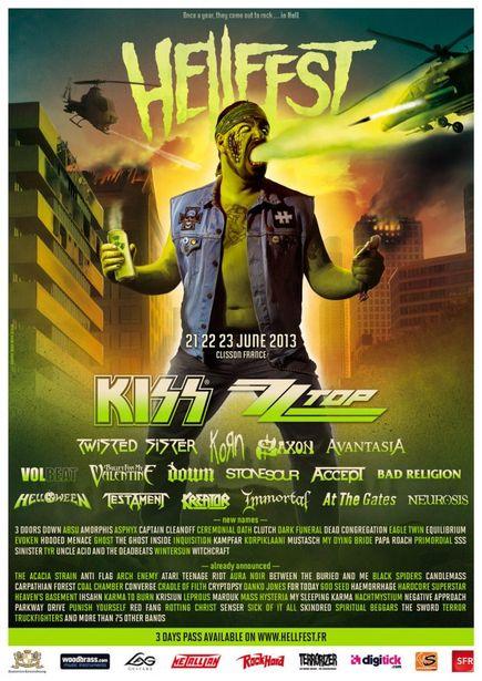 Hellfest @ Clisson (France) du 21 au 23 Juin 2013