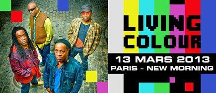 Living Colour @ New Morning (Paris), le 13 Mars 2013