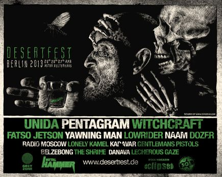 DesertFest @ Berlin (Allemagne), 25-26-27 Avril 2013
