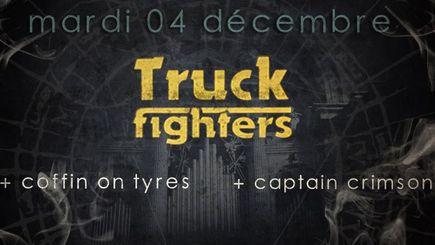 Truckfighters + Coffin On Tyres @ Combustibles (Paris), le 04 Décembre 2012