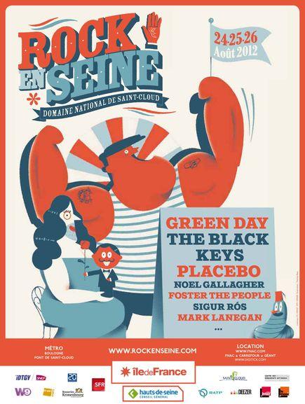 Rock en Seine @ Paris Le 26 août 2012