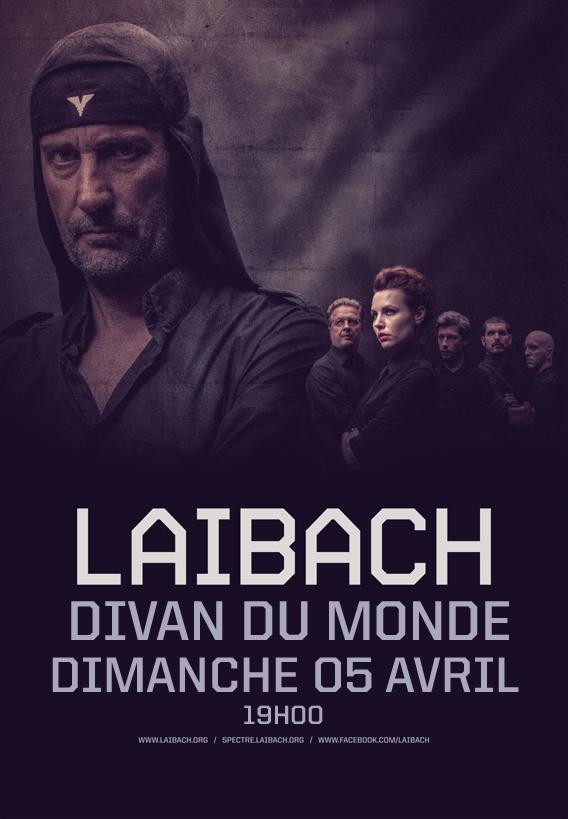 Laibach @ Divan du Monde (Paris), le 5 Avril 2015