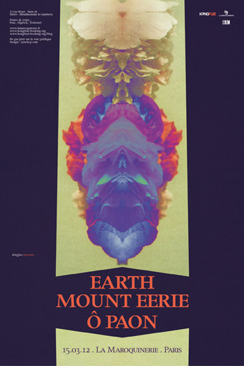 Earth @ Maroquinerie (Paris), le 15 Mars 2012
