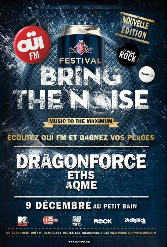 Bring The Noise, OüiFM Festival : Eths + Aqme au Petit Bain (Paris), le 09 Décembre 2011