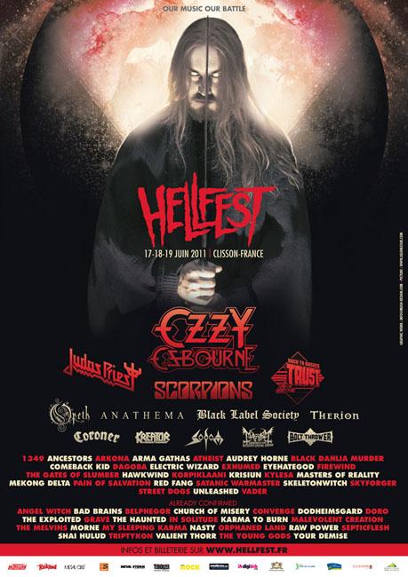 Hellfest 2011 @ Clisson (France), du 17 au 19 Juin 2011