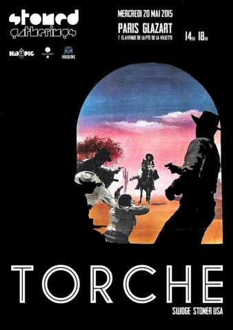 Torche + Your Highness + Watertank @ Glazart (Paris), le 20 Mai 2015