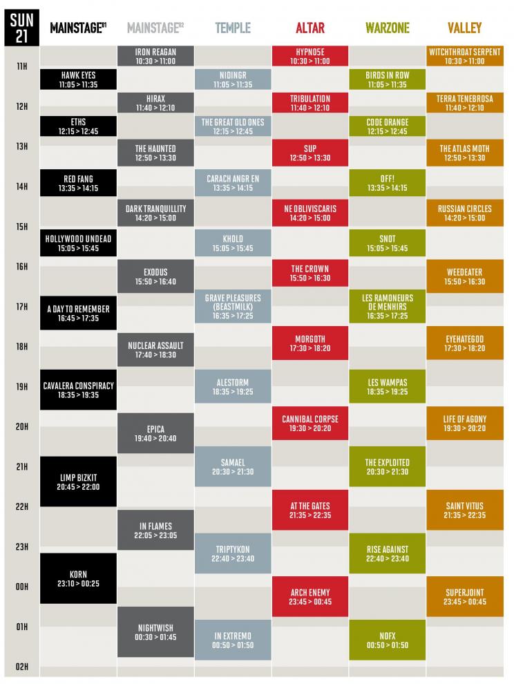 running-order-dimanche-hellfest-2015