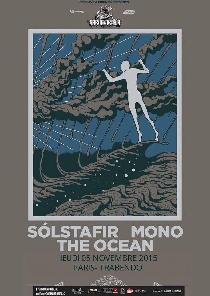 Solstafir + Mono + The Ocean @ Trabendo (Paris), le 5 Novembre 2015