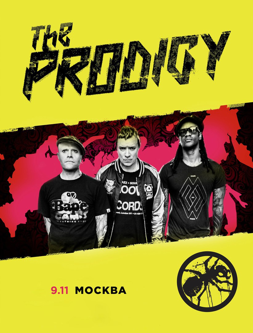 Prodigy @ Bud Arena (Moscou, Fédération de Russie ), le 9 Novembre 2016