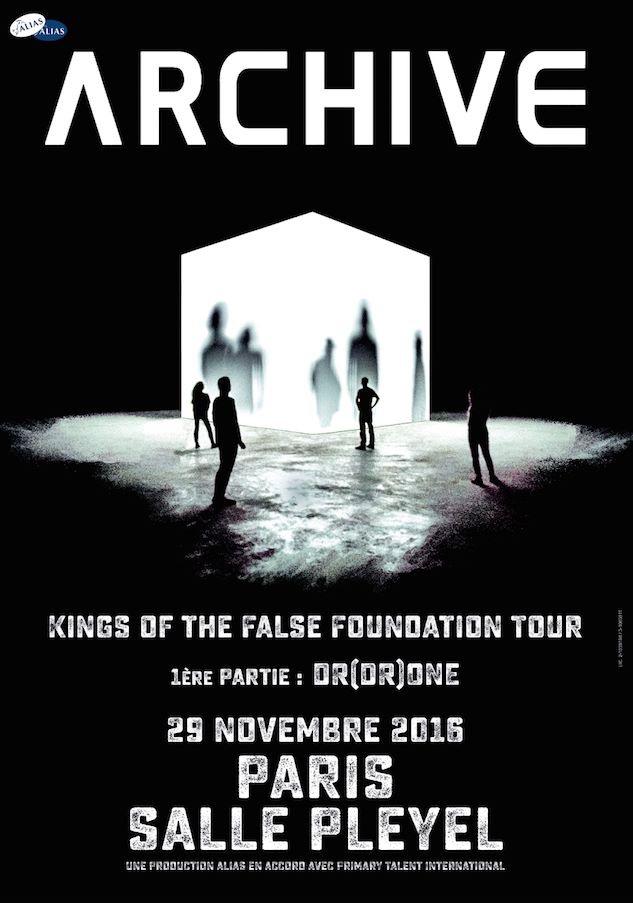 Archive @ Salle Pleyel (Paris), le 29 Novembre 2016