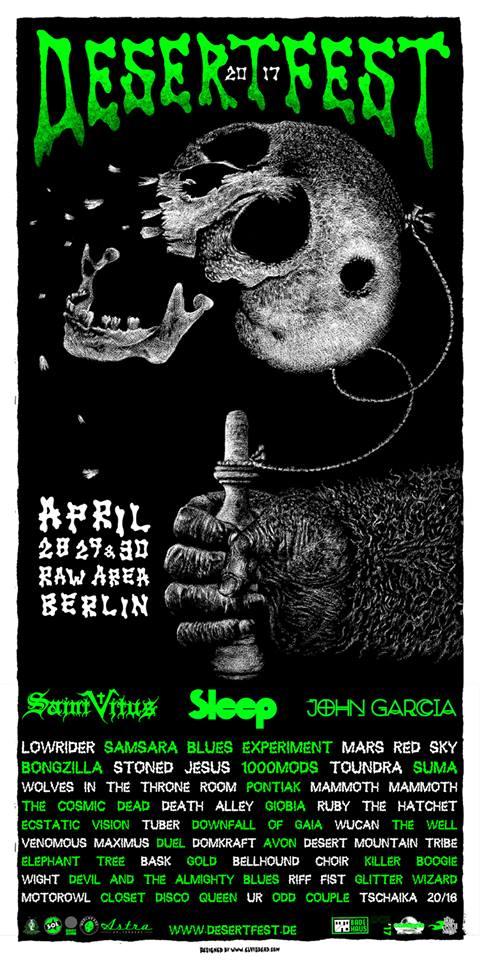 DesertFest @ Berlin, du 28 au 30 Avril 2017