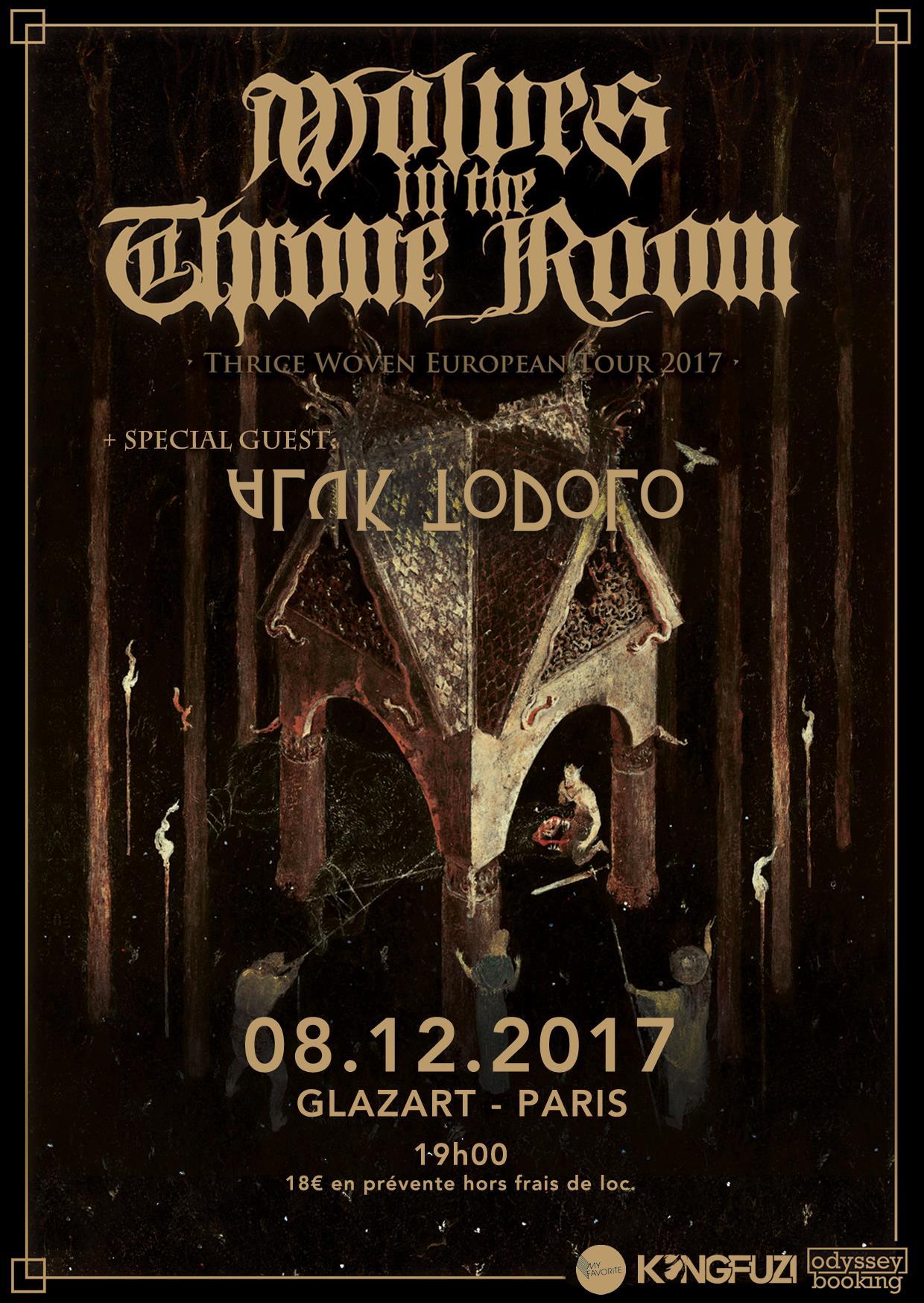 Wolves In The Throne Room + Aluk Todolo @ Glazart (Paris), le 8 Décembre 2017