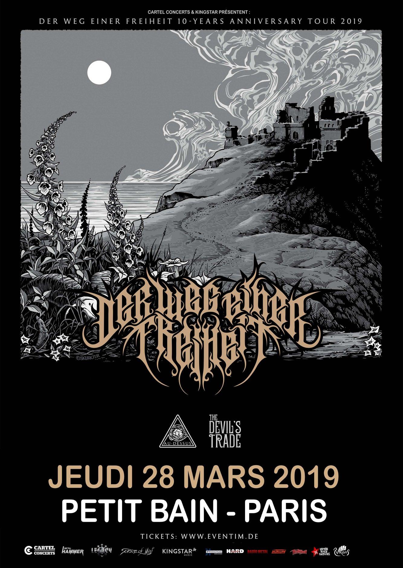 Der Weg Einer Freiheit @ Petit Bain (Paris), le 28 Mars 2019