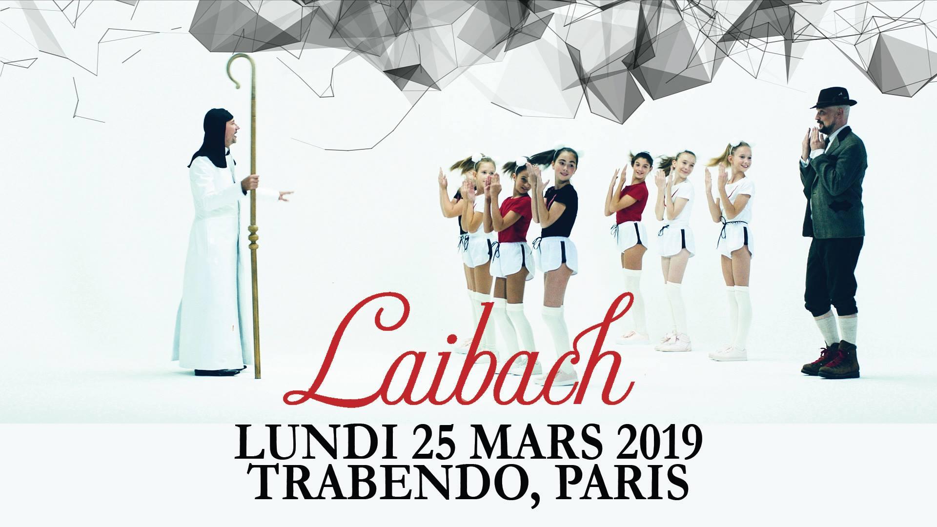 Laibach @ Trabendo (Paris), le 25 Mars 2019