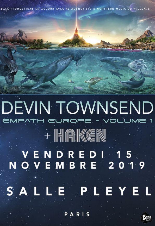 Devin Townsend @ Salle Pleyel (Paris), le 15 Novembre 2019