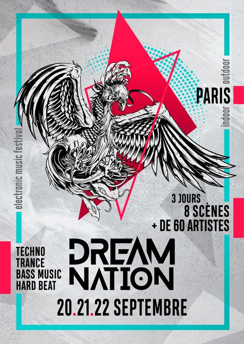 DreamNation@ Docks d'Aubervilliers (Paris), le 21 Septembre 2019