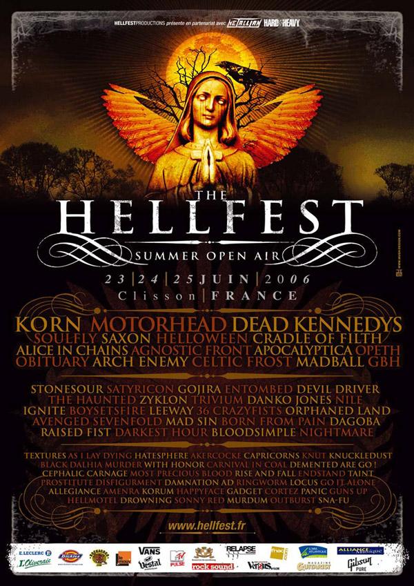 Hellfest @ Clisson, les 23-24-25 Juin 2006