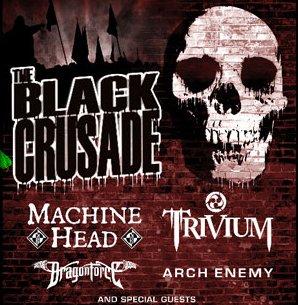 Arch Enemy + Dragonforce + Trivium + Machine Head @ Elysée Montmartre (Paris), 28 Novembre 2007