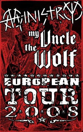 Ministry + My Uncle The Wolf + The Last Supper @ Bataclan / Elysée Montmartre (Paris), les 15 et 16 Juin 2008