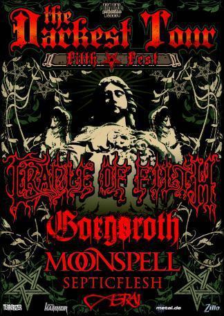 Septic Flesh + Moonspell @ Bataclan (Paris) le 02 Décembre 2008