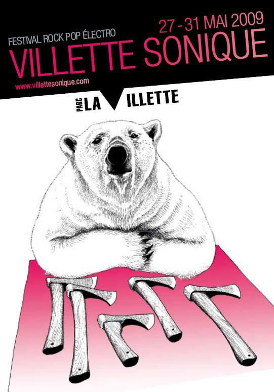 Villette Sonique @ Parc de la Villette (Paris), les 30 et 31 Mai 2009