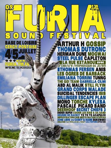 Furia Sound Festival @ Base de loisirs de Cergy-Pontoise, les 04 et 05 Juillet 2009