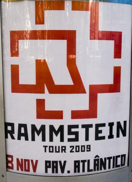 Rammstein + Combichrist @ Pavilhão Atlantico (Lisbonne, Portugal), le 08 Novembre 2009