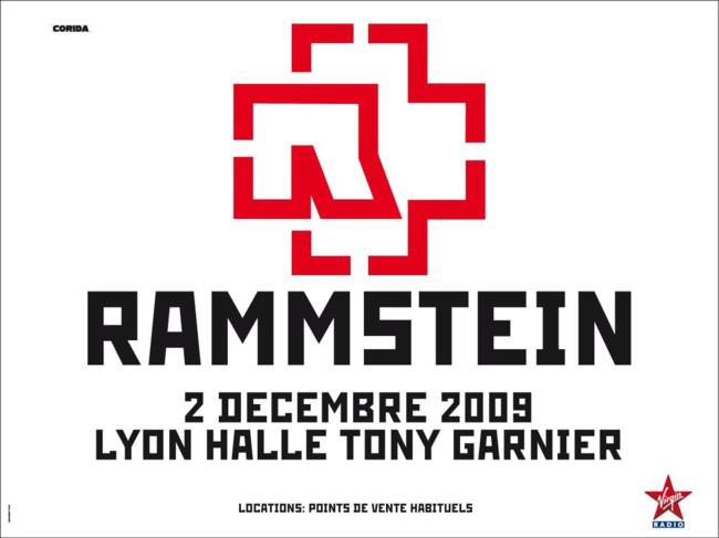 Rammstein + Combichrist @ Halle Tony Garnier (Lyon), le 02 Décembre 2009