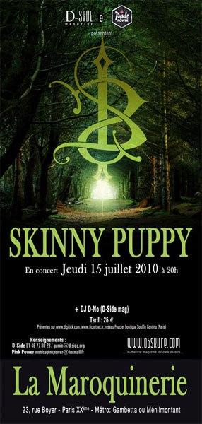 Skinny Puppy @ Maroquinerie (Paris), le 15 Juillet 2010
