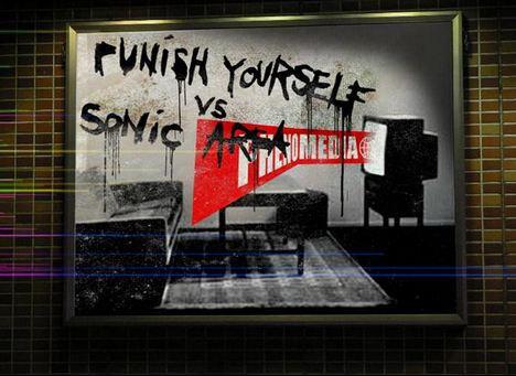 Punish Yourself vs Sonic Area (Noxious Art Festival) @ Glazart (Paris), le 04 Septembre 2010