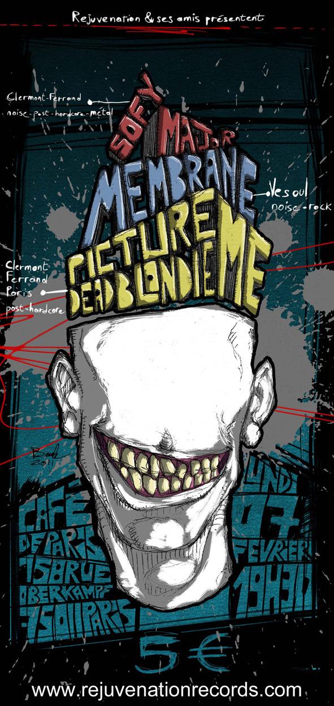 Membrane + Sofy Major @ Café de Paris (Paris), le 07 Février 2011