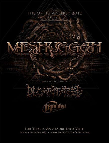 Meshuggah + Decapitated @ Bataclan (Paris), le 02 Décembre 2012