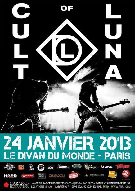 Cult Of Luna @ Divan du Monde (Paris), le 24 Janvier 2013