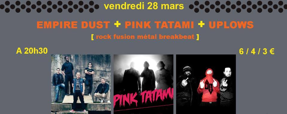 Empire Dust @ La Pêche (Montreuil), le 28 Mars 2014
