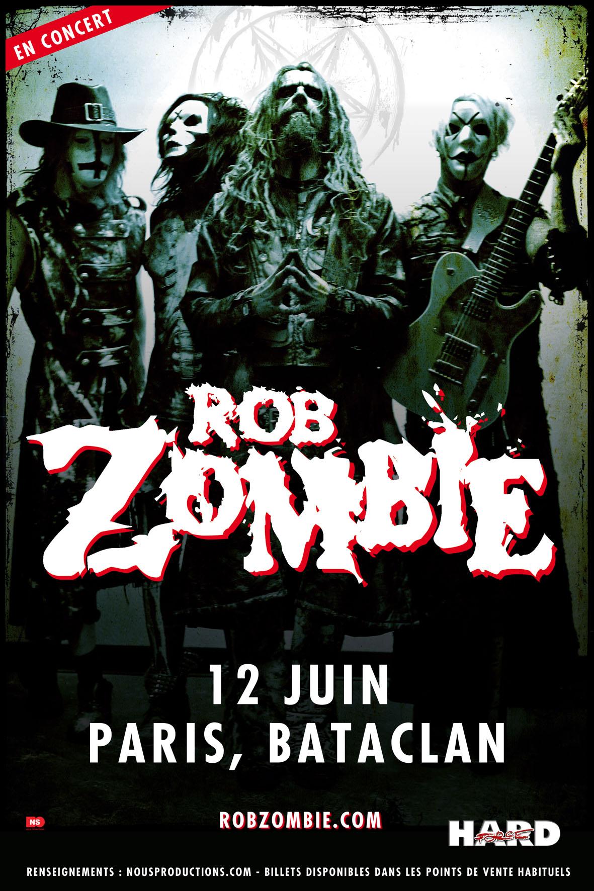 Rob Zombie + Powerman 5000 @ Bataclan (Paris), le 12 Juin 2014
