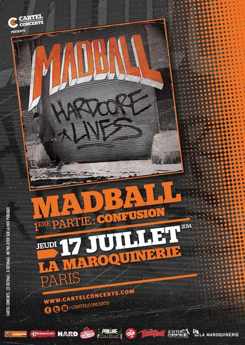 Madball @ Maroquinerie (Paris), le 17 Juillet 2014