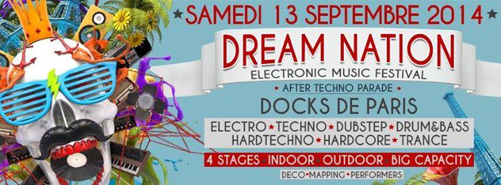 Dream Nation Festival @ Docks de Paris, le 13 Septembre 2014