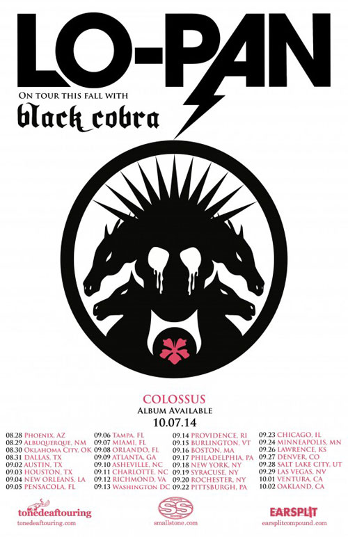 Black Cobra + Lo Pan + Godmaker @ Saint Vitus Bar (Brooklyn, New York, USA), le 18 Septembre 2014